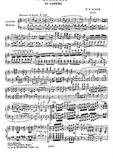 Two Concerti da camera, Op.10: Концерт No.1, для фортепиано соло by Шарль Валантен Алькан