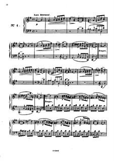 Одиннадцать пьес в религиозном стиле и транскрипция на тему из 'Мeссии' Генделя, Op.72: Пьеса No.4 by Шарль Валантен Алькан