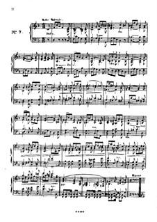 Одиннадцать пьес в религиозном стиле и транскрипция на тему из 'Мeссии' Генделя, Op.72: Пьеса No.7 by Шарль Валантен Алькан