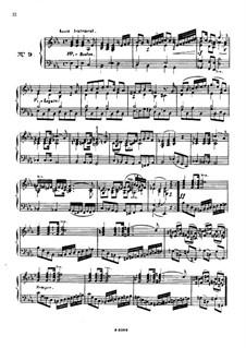 Одиннадцать пьес в религиозном стиле и транскрипция на тему из 'Мeссии' Генделя, Op.72: Пьеса No.9 by Шарль Валантен Алькан