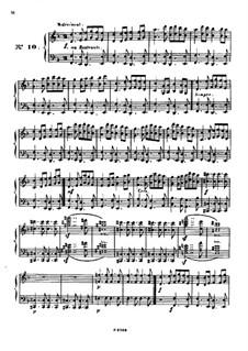Одиннадцать пьес в религиозном стиле и транскрипция на тему из 'Мeссии' Генделя, Op.72: Пьеса No.10 by Шарль Валантен Алькан