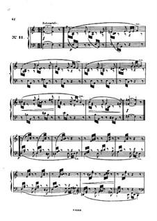 Одиннадцать пьес в религиозном стиле и транскрипция на тему из 'Мeссии' Генделя, Op.72: Пьеса No.11 by Шарль Валантен Алькан
