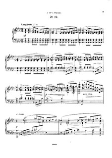 Двадцать пять прелюдий, Op.64: Прелюдия No.17 by Цезарь Кюи