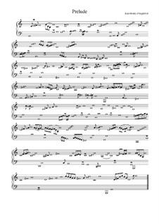 Сюита соль мажор: Прелюдия by Жан-Анри д'Англебер