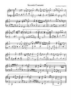 Сюита соль мажор: Куранта No.2 by Жан-Анри д'Англебер