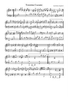 Сюита соль мажор: Куранта No.3 by Жан-Анри д'Англебер