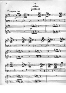 Фрагменты: Вариации No.10-14, для двух фортепиано в четыре руки by Эдуард Элгар