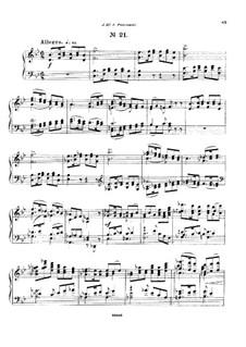 Двадцать пять прелюдий, Op.64: Прелюдия No.21 by Цезарь Кюи