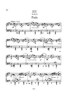 Фрагменты: Вариация No.14, для фортепиано by Эдуард Элгар
