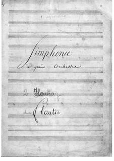 Симфония ре мажор: Симфония ре мажор by Хуан Кризостомо де Арриага