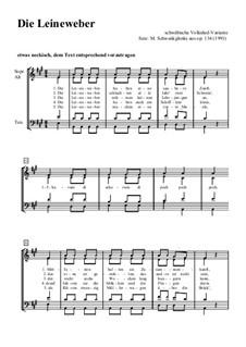 Die Leinenweber, Op.134: Die Leinenweber by Манфред Швенкгленкс