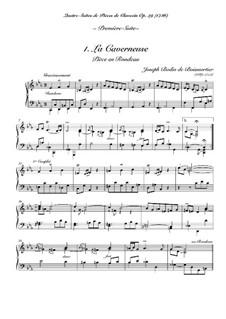 Сюита No.1 для клавесина: No.1 La caverneuse by Жозеф Бодин де Буамортье