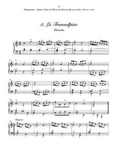 Сюита No.1 для клавесина: No.3 La transalpine by Жозеф Бодин де Буамортье