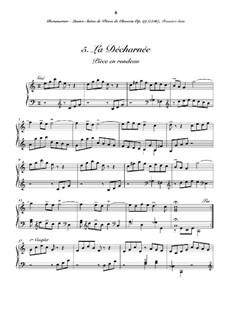 Сюита No.1 для клавесина: No.5 La décharnée by Жозеф Бодин де Буамортье