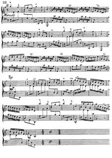 Менуэт : Менуэт by Jacques Duphly