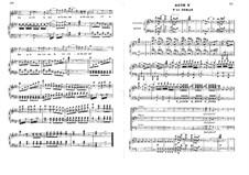 Дочь кардинала: Акт V, для голосов и фортепиано by Фроменталь Галеви