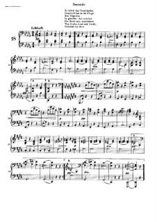 Песни любви, Op.52a: Вальс No.18 by Иоганнес Брамс