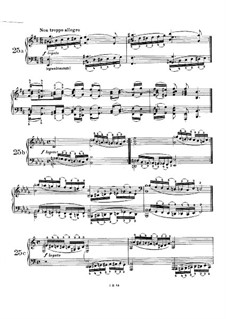 Пятьдесят однo упражнение для фортепиано, WoO 6: Упражнения No.25-31 by Иоганнес Брамс