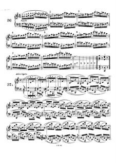 Пятьдесят однo упражнение для фортепиано, WoO 6: Упражнения No.36-41 by Иоганнес Брамс