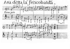La Frescobalda: Для органа by Джироламо Фрескобальди