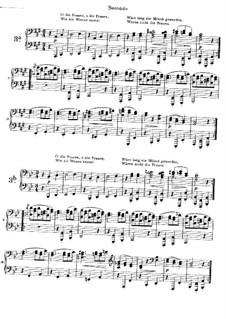 Песни любви, Op.52a: Вальсы No.3a-3b by Иоганнес Брамс