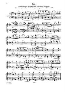 Трио ми мажор, D.610: Для фортепиано by Франц Шуберт