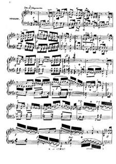 Фортепианная соната ля-бемоль мажор, Op.177: Части III-IV by Фридрих Калькбреннер
