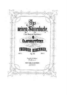 Aus meinem Skizzenbuch, Op.29: Nr.1 Ungarisch by Теодор Кирхнер