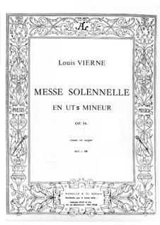 Торжественная месса, Op.16: Торжественная месса by Луи Вьерн