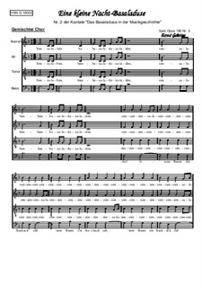 Аллегро: Das Basaladusa No.2 by Вольфганг Амадей Моцарт