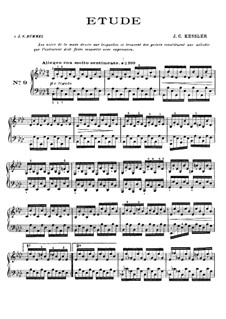 Двадцать четыре этюда для фортепиано, Op.20: Этюд No.9 ля-бемоль мажор by Йозеф Кристоф Кесслер