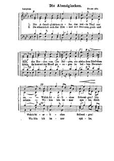 Вечерний звон: Вечерний звон by Франц Вильгельм Абт