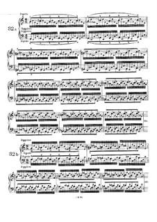 Пятьдесят однo упражнение для фортепиано, WoO 6: Упражнения No.32-35 by Иоганнес Брамс