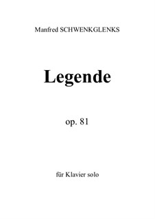 Legende, Op.81: Legende by Манфред Швенкгленкс
