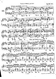 Мазурки, Op.56: No.1 си мажор by Фредерик Шопен
