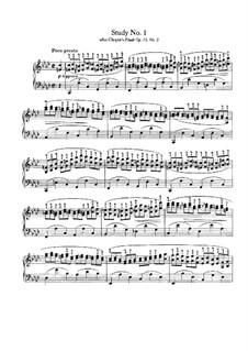 Пять упражнений на темы произведений разных композиторов: Сборник by Иоганнес Брамс