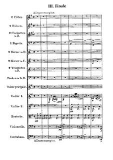 Концерт для скрипки с оркестром No.1 соль минор, Op.26: Часть III by Макс Брух