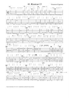 Ричеркар No.13: Ричеркар No.13 by Vincenzo Capirola