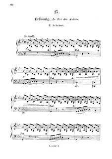 Лесной царь, D.328 Op.1: Для фортепиано by Франц Шуберт