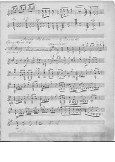 Анна Болейн: Избранные мелодии, для гитары by Гаэтано Доницетти