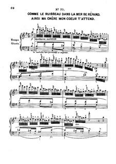 Douze études caractéristiques, Op.2: Этюд No.10 by Адольф фон Хенсельт
