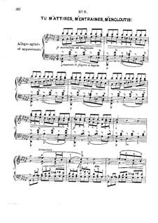 Douze études caractéristiques, Op.2: Этюд No.8 by Адольф фон Хенсельт
