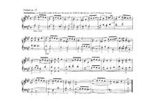 Прелюдия ля мажор для органа: Прелюдия ля мажор для органа by Адольф Фридрих Хессе