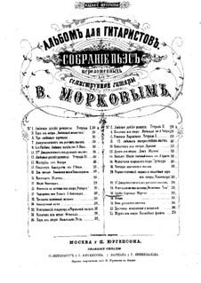 Агата. Серенада, Op.22: Агата. Серенада by Иоганн Каспар Мерц