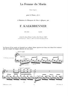 La femme du marin, Op.139: Для фортепиано (ноты высокого качества) by Фридрих Калькбреннер