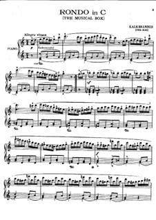 Рондо до мажор: Рондо до мажор by Фридрих Калькбреннер