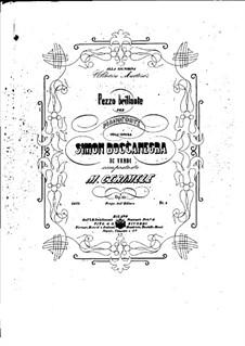 Pezzo brillante on Theme from 'Simon Boccanegra' by Verdi, Op.82: Pezzo brillante on Theme from 'Simon Boccanegra' by Verdi by Микеле Черимеле