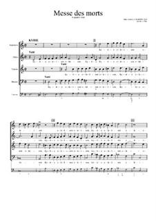Messe des morts: Messe des morts by Марк-Антуан Шарпантье