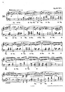 Мазурки, Op.59: No.1 ля минор by Фредерик Шопен