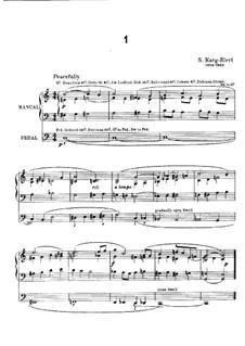 Интерлюдии в разных тональностях для органа: Интерлюдии в разных тональностях для органа by Зигфрид Карг-Элерт